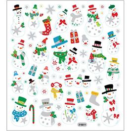 Christmas Stickers - Snowmen