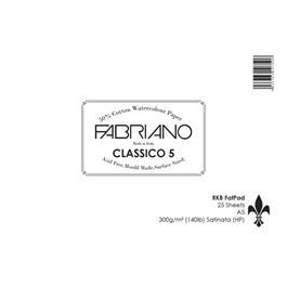 Fabriano Classico 5 Fat Pad A5 140lbs 'HP' thumbnail