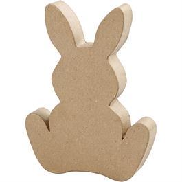 Papier-Mache Easter Bunny thumbnail