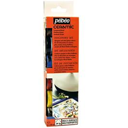 Pebeo Ceramic Discovery Set 6 x 20ml thumbnail