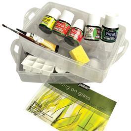 Vitrail Painting On Glass Workbox Thumbnail Image 1