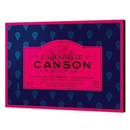 """Canson Heritage Block Hot Pressed 10x14"""" (26x36cm) 140lbs thumbnail"""