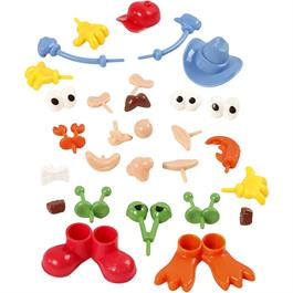 Silk & Foam Clay Assorted Body Parts