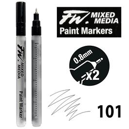 FW Mixed Media Paint Marker 0.8mm Technical Set 101 Thumbnail Image 0