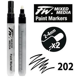 FW Mixed Media Paint Marker Set 2-4mm Round 202 thumbnail