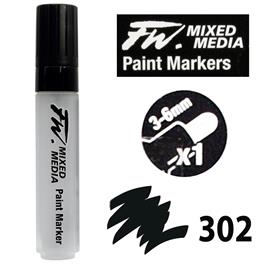 FW Mixed Media Paint Marker Set 3-6mm Round Nib 302 thumbnail