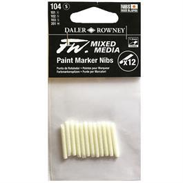 FW Mixed Media Paint Marker Nibs 1-3mm Chisel x 12 thumbnail