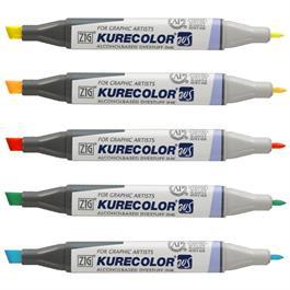 ZIG Kurecolor Twin WS Marker Pens Single Colours Thumbnail Image 2