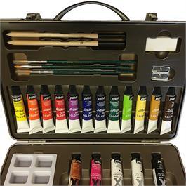Pebeo Studio XL Oil Paint Metal Atelier Case Thumbnail Image 3