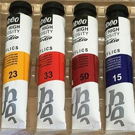 Pebeo Studio Acrylic Paint Starter Kit Wooden Box Thumbnail Image 2