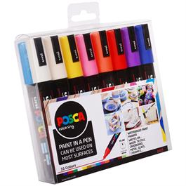 POSCA PC-5M Set Of 16 Pens Thumbnail Image 1