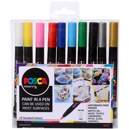 POSCA PCF-350 Set Of 10 Pens thumbnail