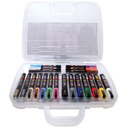 POSCA Case With 20 Paint Pens Thumbnail Image 1