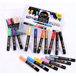 POSCA PC-1M Collection Pack Of 22 Pens Thumbnail Image 0