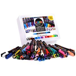 POSCA PC-3M Collection Pack Of 40 Pens Thumbnail Image 1