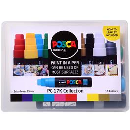 POSCA PC-17K Collection Pack Of 10 Pens Thumbnail Image 0
