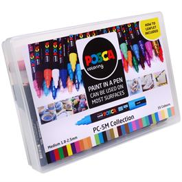 POSCA PC-5M Collection Pack Of 39 Pens Thumbnail Image 2