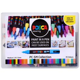 POSCA PC-5M Collection Pack Of 39 Pens Thumbnail Image 1