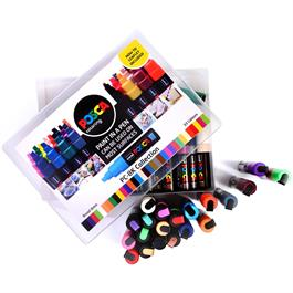 POSCA PC-8K Collection Pack Of 33 Pens Thumbnail Image 1