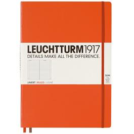 Leuchtturm Master Slim Ruled Notebooks thumbnail