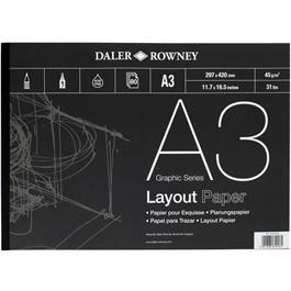 Daler Rowney 45gsm Layout Pads thumbnail