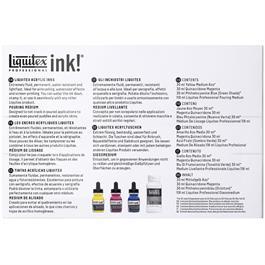 Liquitex Pouring Technique Primary Colours Set Thumbnail Image 1