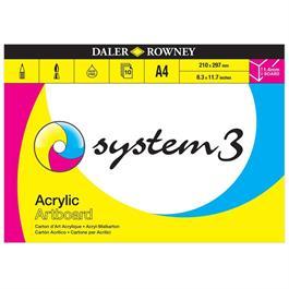 System 3 Acrylic Artboard Pad A3 thumbnail