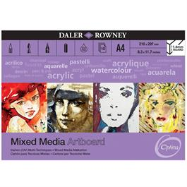 Optima Mixed Media Artboard Pad A3 thumbnail