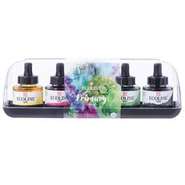 Ecoline Liquid Watercolour Ink Primary Set 5 x 30ml thumbnail