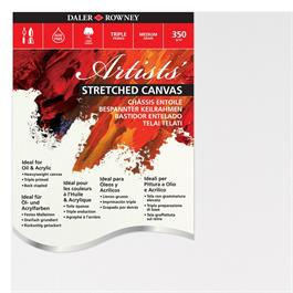 """Daler Rowney Artists' Stretched Canvas 10"""" x 14"""" thumbnail"""
