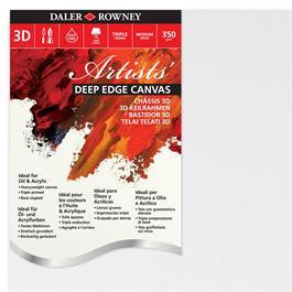 "Daler Rowney Artists' Deep Edge Canvas 20"" x 40"" / 50cm x 100cm thumbnail"