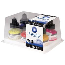 Daler Rowney Aquafine Watercolour Ink Set thumbnail