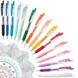 Zebra Sarasa Clip Gel Pens 0.5mm Single Colours Thumbnail Image 0