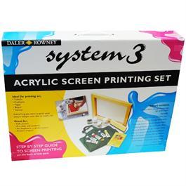 Daler Rowney System 3 Screen Printing Set Thumbnail Image 2