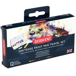 Derwent Inktense Paint Pan Travel Set Thumbnail Image 0