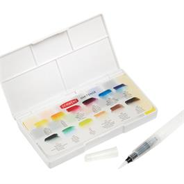 Derwent Inktense Paint Pan Travel Set Thumbnail Image 4