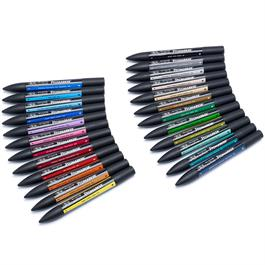 Winsor & Newton ProMarker Arts & Illustration 24 Set Thumbnail Image 2