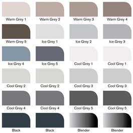 Winsor & Newton ProMarker Black & Greys 24 Set Thumbnail Image 4