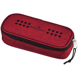 Faber Castell Grip Large Pencil Case Red thumbnail
