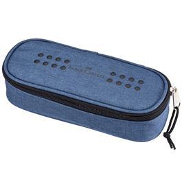 Faber Castell Grip Large Pencil Case Blue thumbnail