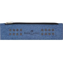 Faber Castell Grip Pencil Pouch Blue thumbnail
