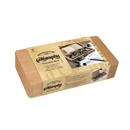 Winsor & Newton Calligraphy Wooden Box Set thumbnail