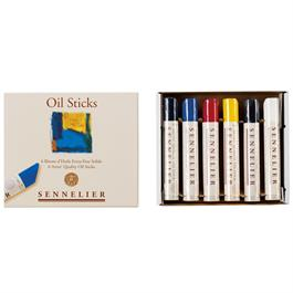 Sennelier Oil Sticks Set Of 6 x 38ml Thumbnail Image 2