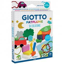 Giotto Patplume 3D Plasticine Creations Set thumbnail