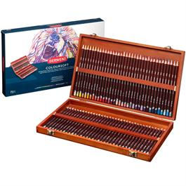 Derwent Coloursoft Pencils Wooden Box of 72 thumbnail