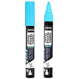 Pebeo 7A Fabric Markers Opaque With Round 4mm Tip thumbnail