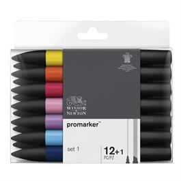 Winsor & Newton ProMarker 12 Set 1 Thumbnail Image 0