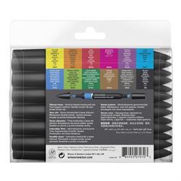 Winsor & Newton ProMarker Brush 12 Vibrant Set Thumbnail Image 2