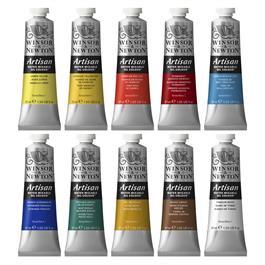 Artisan Water Mixable Oil Paint 10 x 37ml Tube Set Thumbnail Image 1