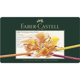 Faber Castell Polychromos Pencils Tin of 120 Thumbnail Image 0